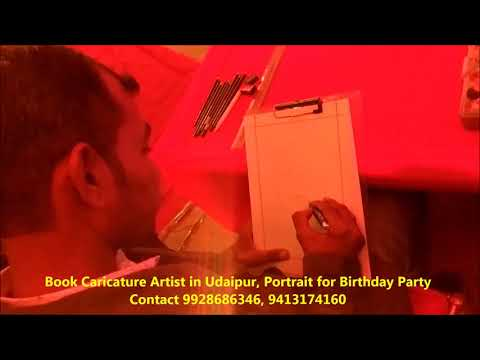 book-caricature-artist-in-udaipur-contact-9928686346