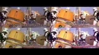 Star Wars - Entering Mos Eisley Comparison (Fan Edit)