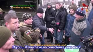Захарченко и пленные киборги