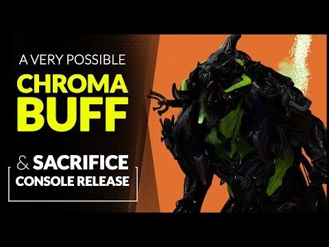 WARFRAME  |  Possible VEX ARMOR Buff  &  Sacrifice Console Release thumbnail