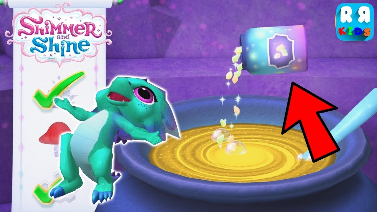 Download Shimmer and Shine: Genie Games - This Potion can make nazboo flying