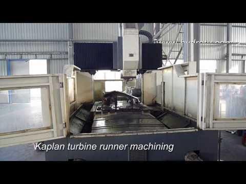 kaplan turbine runner machining