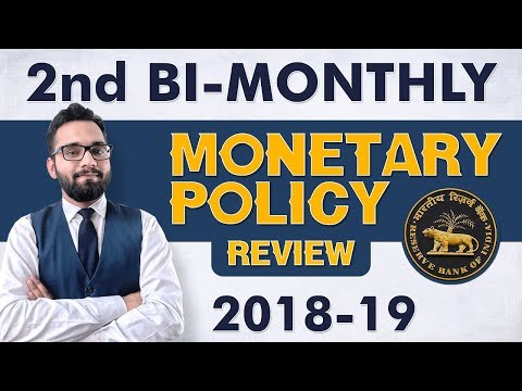 Second BI-Monthly Monetary Policy Review 2018-19