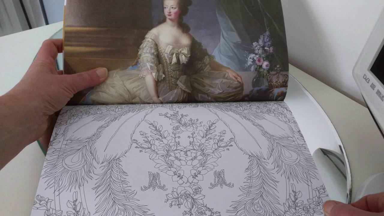 Livre de Coloriage anti stress adulte Coloriages au ch¢teau de Versailles art anti stress