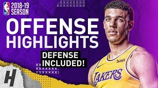 Lonzo Ball BEST Offense & Defense Highlights from 2018-19 NBA Season! BIG BALLER!