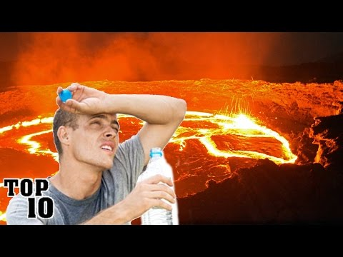 Top 10 Hottest Places On Earth