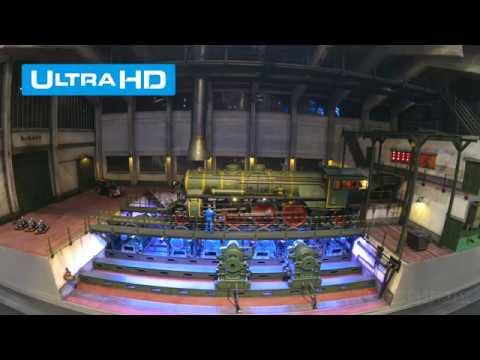 Steam Loco Test Run at the Rimkov Locomotive Works [4K Ultra HD Video]