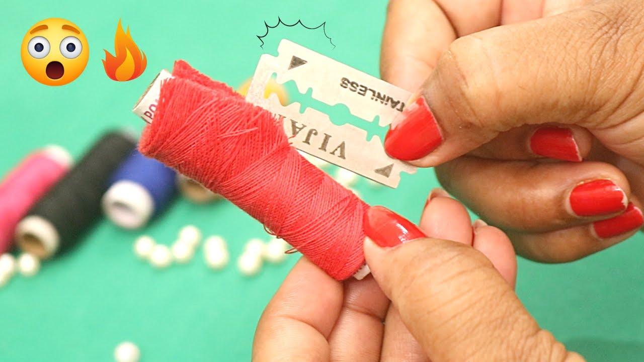 ❤️ Amazing sewing tricks जो बहुत कम लोगो को पता है | Sewing Hacks, Sewing Tips & Tricks