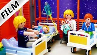 Playmobil Film deutsch   EINE NACHT IM KRANKENHAUS MIT FAMILIE VOGEL   Alle verletzt? Kinderfilm