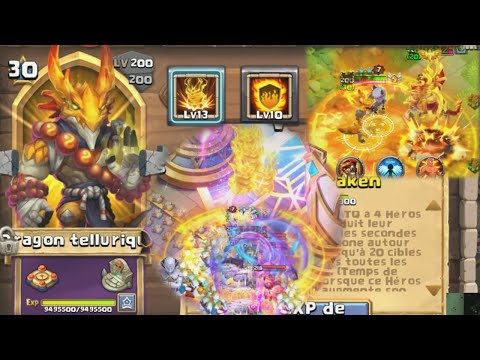 Dragon Tellurique, NOUVEAU TANK ? Castle Clash