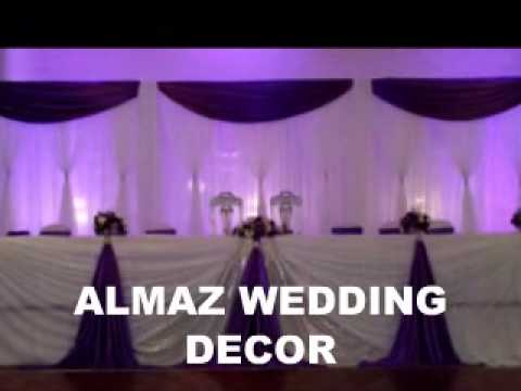 Almaz Wedding Decor Ethiopian Eritrean Purple Wedding