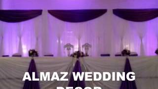 Almaz Wedding Decor Ethiopian/Eritrean Purple wedding Decoration