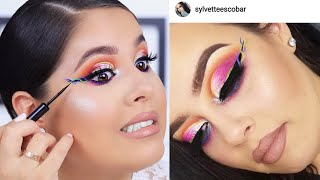 OH BOY! RECREATING MY FOLLOWER'S MAKEUP LOOK  | Nelly Toledo