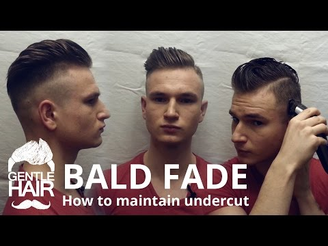 how to give yourself a haircut fade