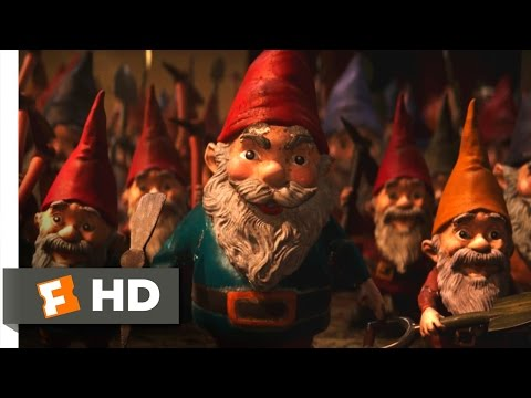 Goosebumps (4/10) Movie CLIP - Indestructible Gnomes (2015)