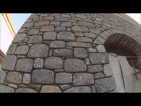 Дом из камня. Уникальная кладка