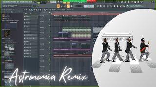 HOW I MADE ASTRONOMIA REMIX (Coffin Dance)/FL studio/Tutorials (Stock Plugins Only)