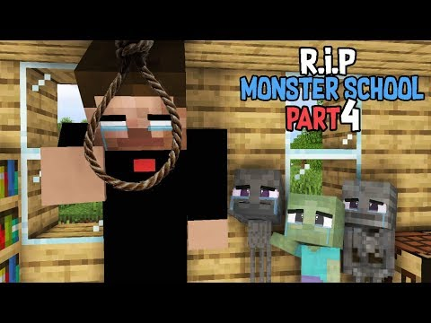 Monster School : RIP ALL  BABY Monsters Part 4 (Sad Story) - Minecraft Animation