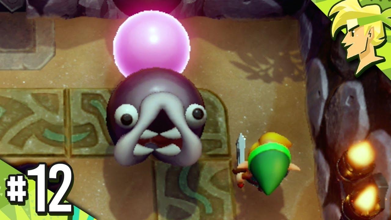 Zelda Link S Awakening How To Defeat Slime Eel Catfish S Maw