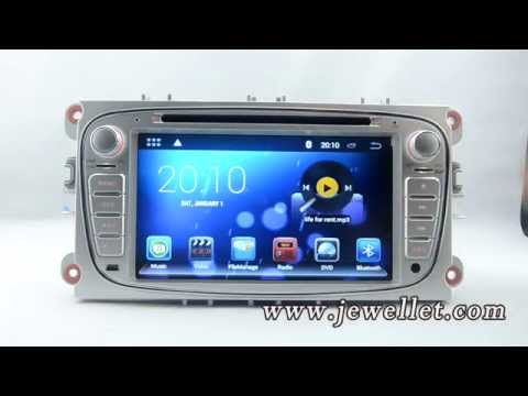Android ford Mondeo Focus S-max C-Max Transit Galaxy DVD GPS Navigation