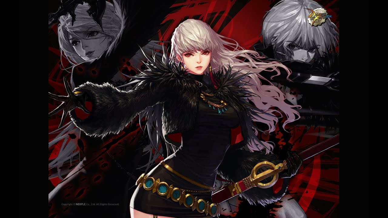Dungeon fighter online female slayer demon slayer for Demon slayer