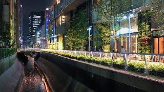 渋谷駅南口のニュースポット | 渋谷ストリームを散策 - 4K UHD