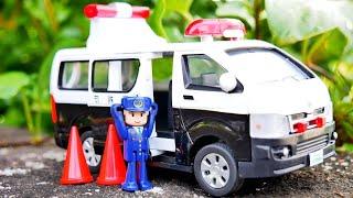 はたらくくるま パトカーのおもちゃを紹介するよ♪ ダイヤペット 警察 緊急車両 緊急車両 そるちゃんねる