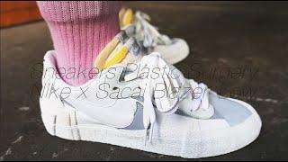 ASMR 사카이 블레이저 로우 성형 (Sneakers …