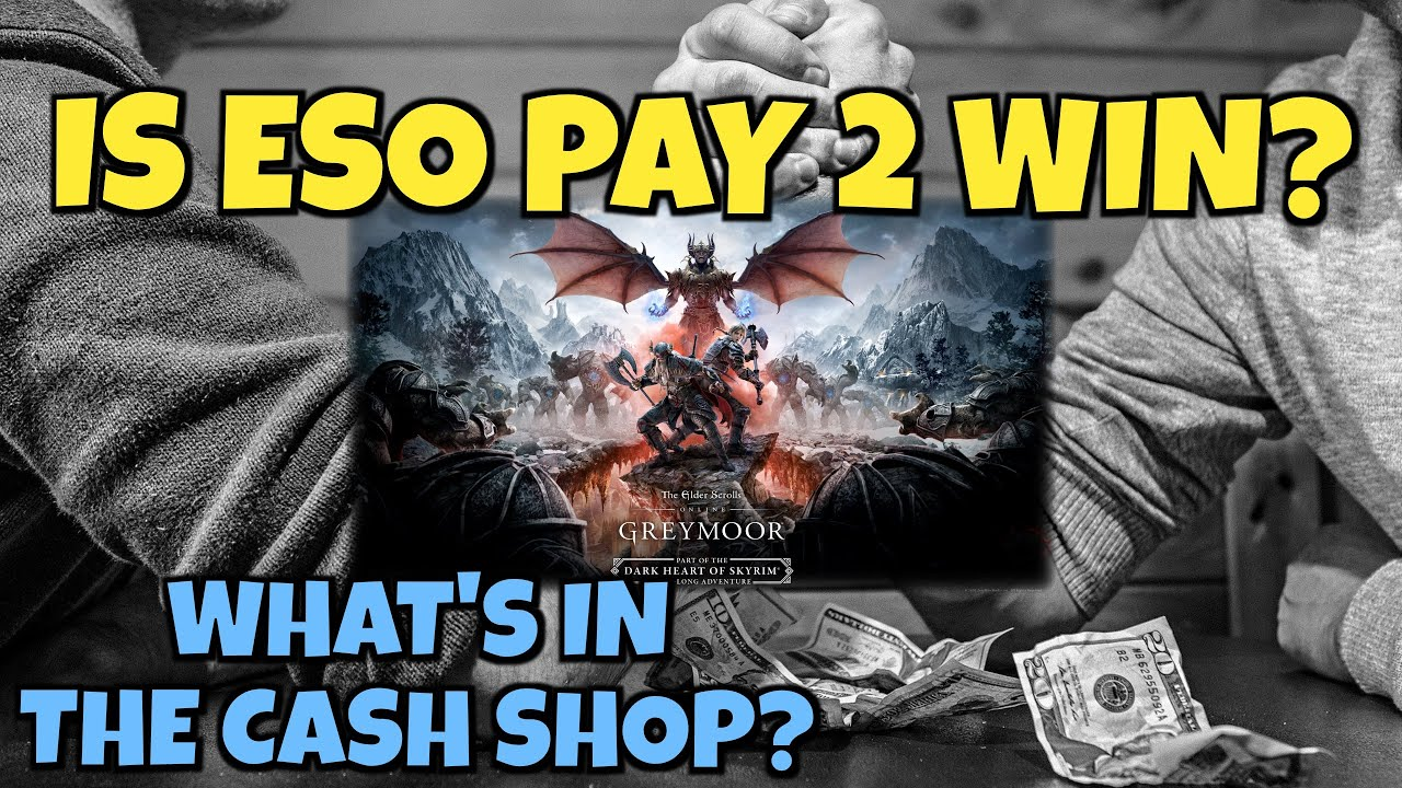 Is ESO Pay to Win? - A Look at the Cash Shop in Elder Scrolls Online - GREAT INFO FOR NEW PLAYERS!