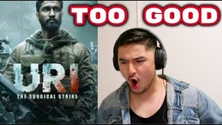 URI (Official Trailer) * REACTION | BEST WAR MOVIE?