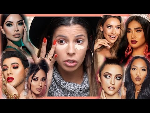 FULL FACE OF BEAUTY GURU MAKEUP | HIT OR MISS? thumbnail