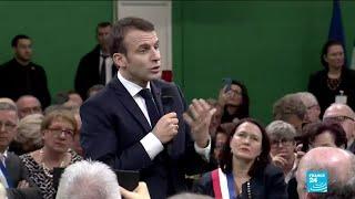 REPLAY - Devant les maires normands, Emmanuel Macron annonce un grand débat