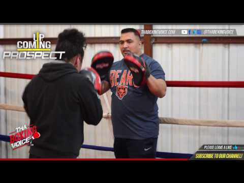 Selina Barrios Full Workout From Premier Boxing Gym