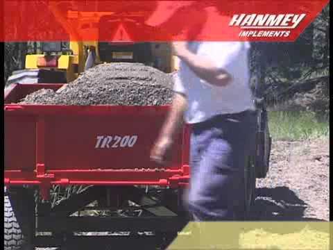Hanmey Hydraulic Tipping Trailers