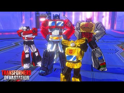 Transformers Devastation #10: Os Maiores Inimigos Unidos - PS4 / Xbox One gameplay