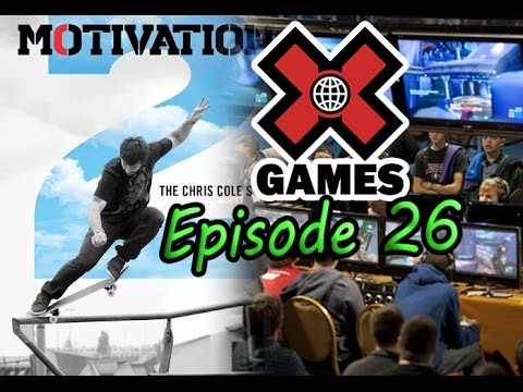 NinjaCast #26: 2UP Winner, Chris Cole, X-Games