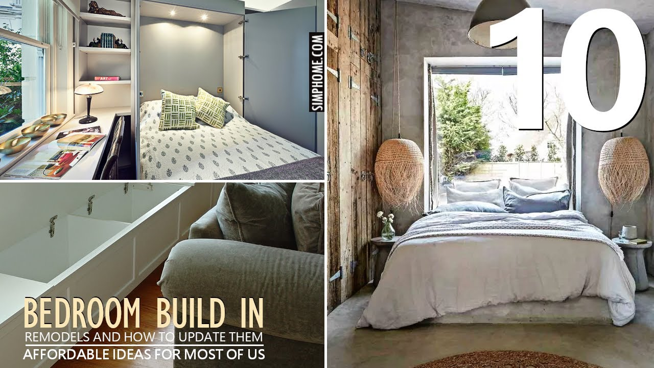 10 Bedroom Built In Storage Ideas Youtube