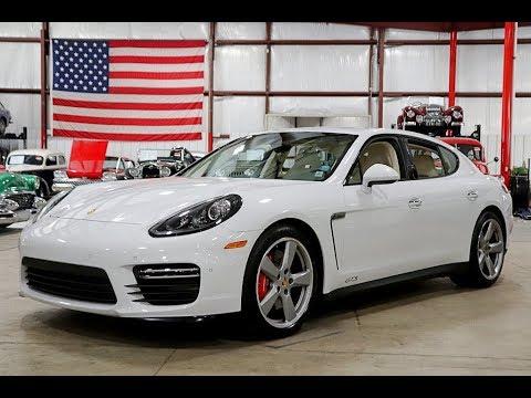 2016 Porsche Panamera Gts White Youtube