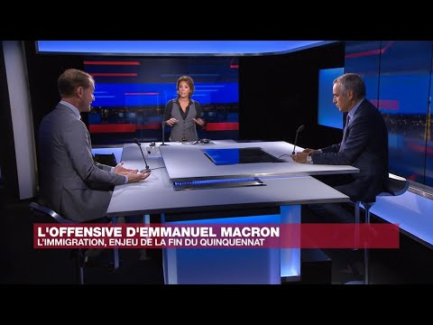 Face à face - L'immigration, enjeu de la fin du quinquennat d'Emmanuel Macron ?