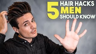 5 GREAT Hair Hacks Every Guy Should Know | Men
