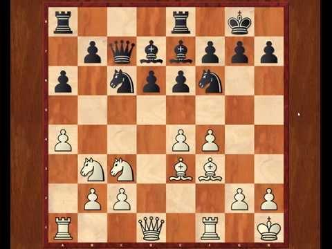 Обучение шахматам  Анализ партии Ананд-Каспаров, 2000  Сицилианская защита  Схевенингенский вариант
