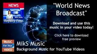 Powerful Background Music for News Broadcast Royalty Free Download
