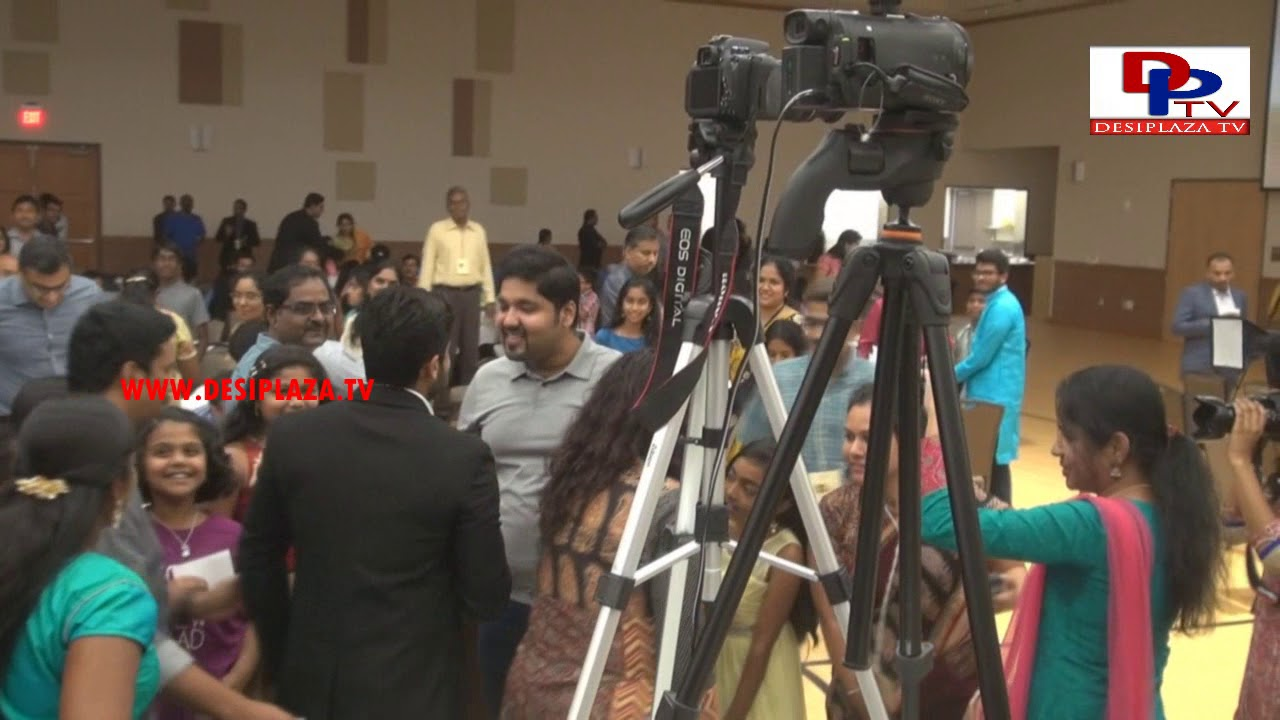Actor Surya arrives to Venue during his visit to Dallas