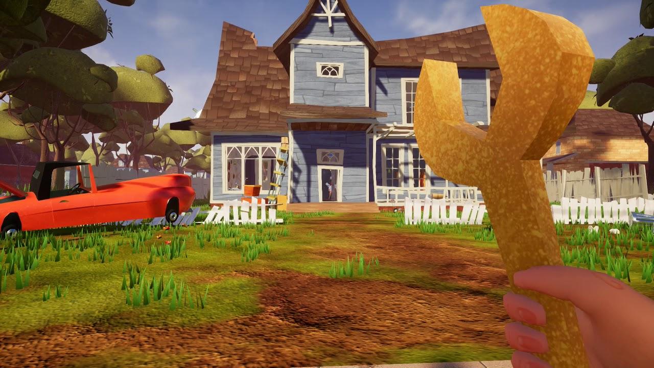 Hello Neighbor gameplay part 1 - YouTube