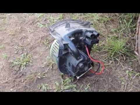 Не работает вентилятор отопителя Рено Кангу после 2005г. ч. 1