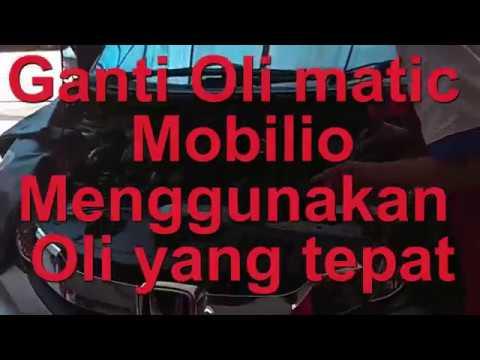 Oli Transmisi Matic Untuk Honda Mobilio Youtube