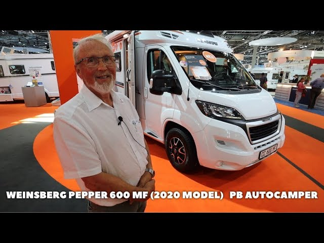 Weinsberg Pepper 600 MF 2020 model