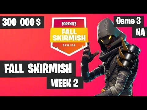 Fortnite Fall Skirmish Week 2 Game 3 NA Highlights (Group 2) - Royale Flush