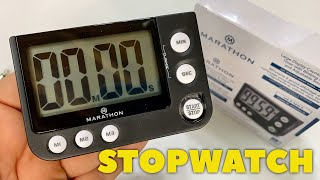 Digital Count Up Timer Stopwatch Review screenshot 5