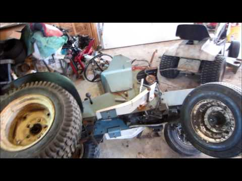 How To remove a Sears Suburban drive belt - YouTube